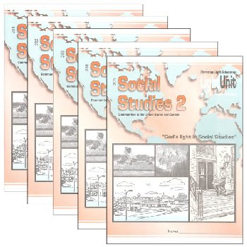 Social Studies 201-205 LightUnit Set Sunrise Edition