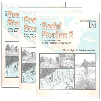 Social Studies 301-306 LightUnit Set Sunrise Edition
