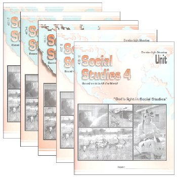 Social Studies 401-410 LightUnit Set Sunrise Edition