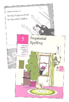 Sequential Spelling Level 5 Revised with Student Response Booklet