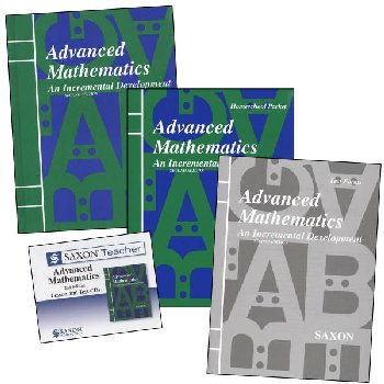 Advanced Math Saxon Home Study Kit + Saxon Teacher CD-ROM
