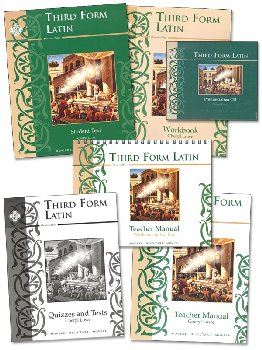 Third Form Latin Text Set