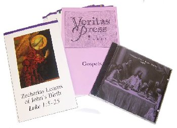 Veritas Bible Gospels Homeschool Kit w/ CD