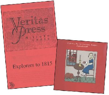 Veritas History Explorers - 1815 Homeschool Kit with CD