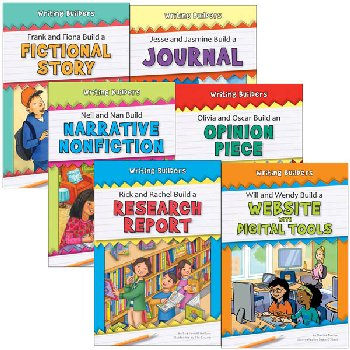 Writing Builders Set 2 (6 Books)