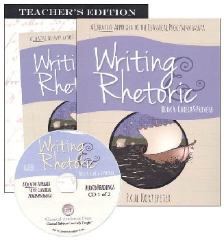 Writing & Rhetoric Book 4: Chreia & Proverb Package