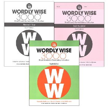 Wordly Wise 3000 4th Edition Book 10 Set
