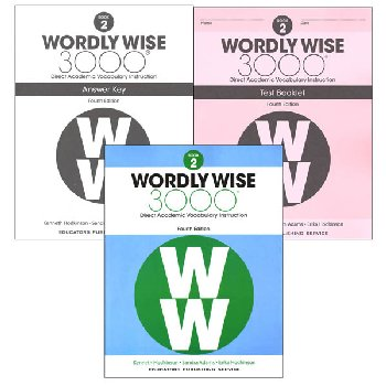 Wordly Wise 3000 4th Edition Book 2 Set