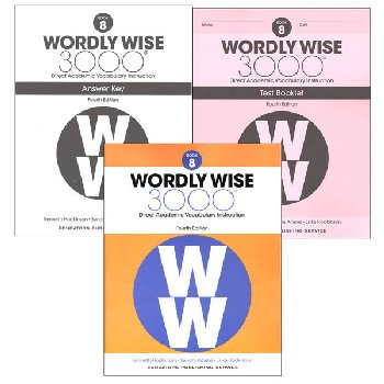Wordly Wise 3000 4th Edition Book 8 Set