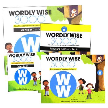 Wordly Wise 3000 2nd Edition Book K Set